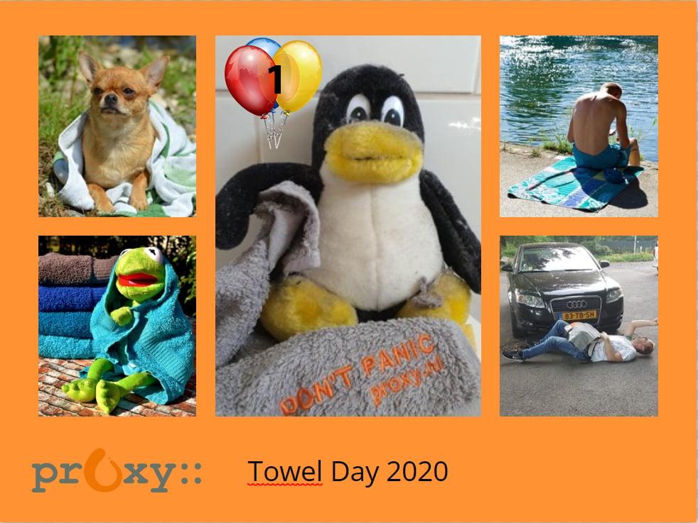 Deelnemers Towel Day 2020